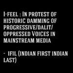 'In Solidarity with the emerging Democratic, Progressive voices in Indian media'