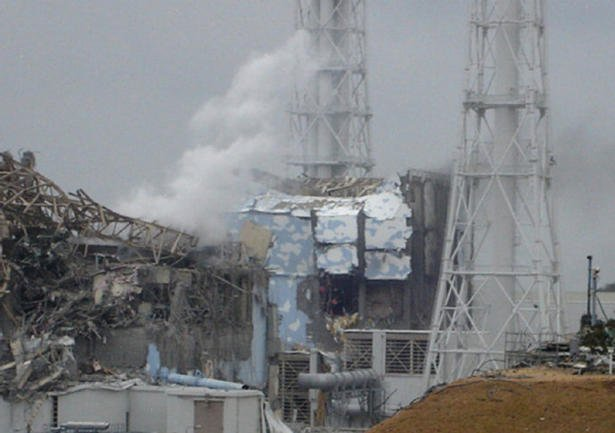 Reactors 3 and 4 at Fukushima