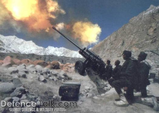 Indian soldiers at Siachen