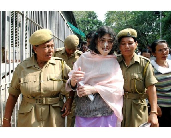 Irom Chanu Sharmila - The Iron Lady of Manipur