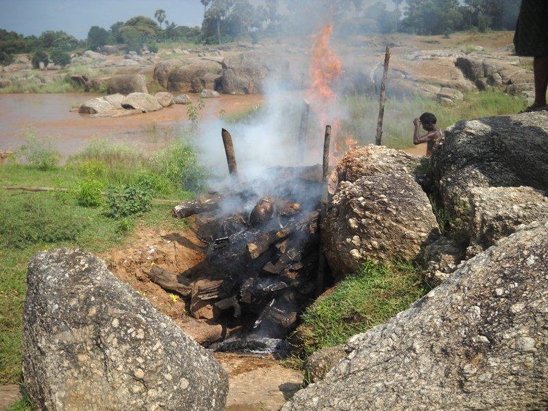 Arun Das dies at Janapanka village while fasting for Jan Lokpal 2