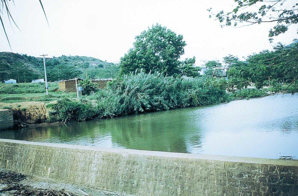 aathukadu check dam