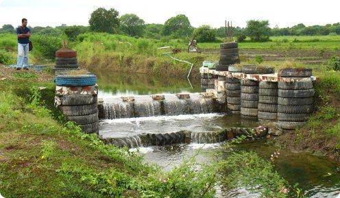 check dam at anandwar