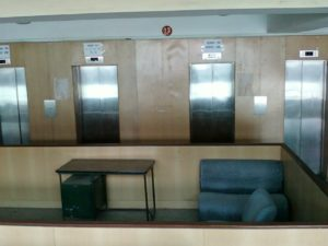 Lobby for the 13th Floor