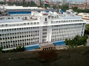 Mantralaya in line of sight - the camera could be something much worse