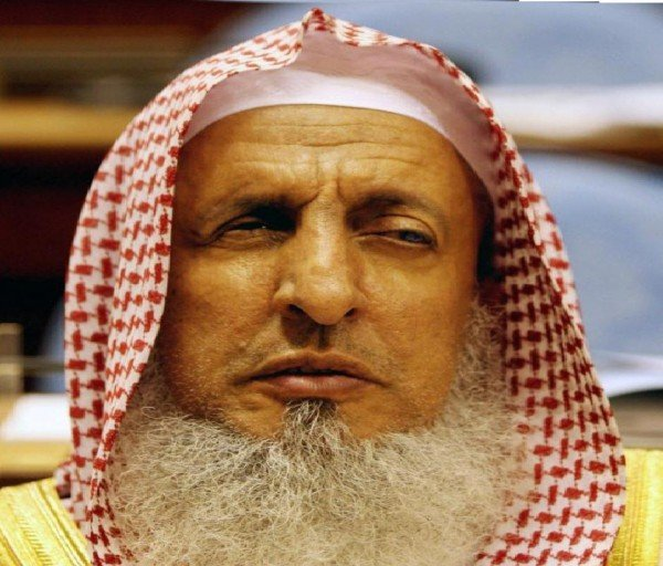Grand Mufti of Saudi Arabia who called for demolishing churches in the Arab Peninsula