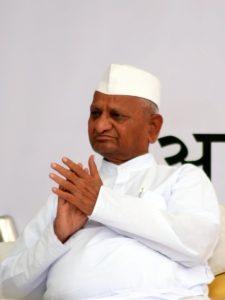 Anna Hazare at Jantar Mantar