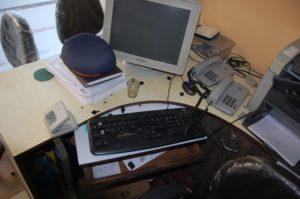 Smashed keyboard 2