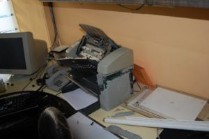 Smashed printer-scanner 2