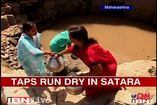 Taps run dry in Satara