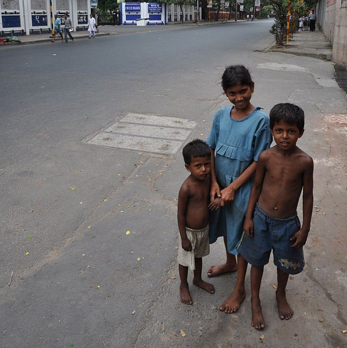 Street Children Kolkata