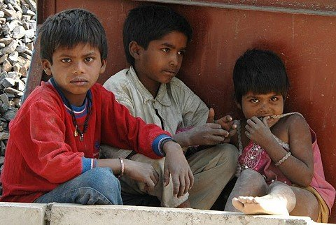 street children jawaharlal nehru stadium commonwealth games