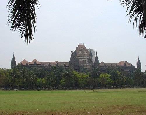 High Court from Maidan Oval Mumbai