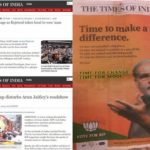 Disproportionate coverage in Times of India