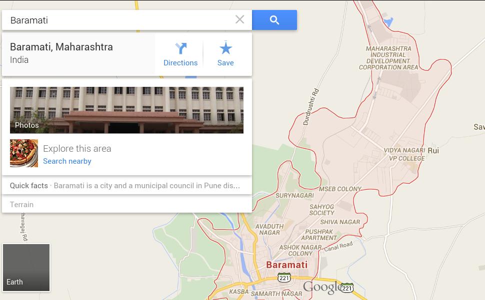 Baramati, Maharashtra - Google Maps