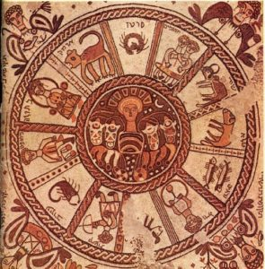 astrological mosaic from Israel