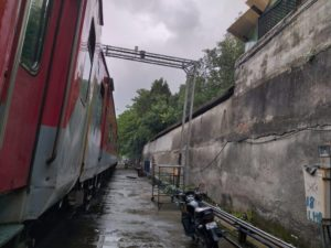 Residents suffer noise and air pollution for nearly a decade, courtesy Indian Railways 4