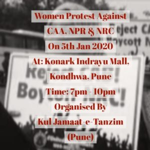 Women Protest Against CAA NRC NPR
