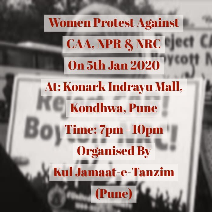 Women Protest Against CAA NRC NPR 1