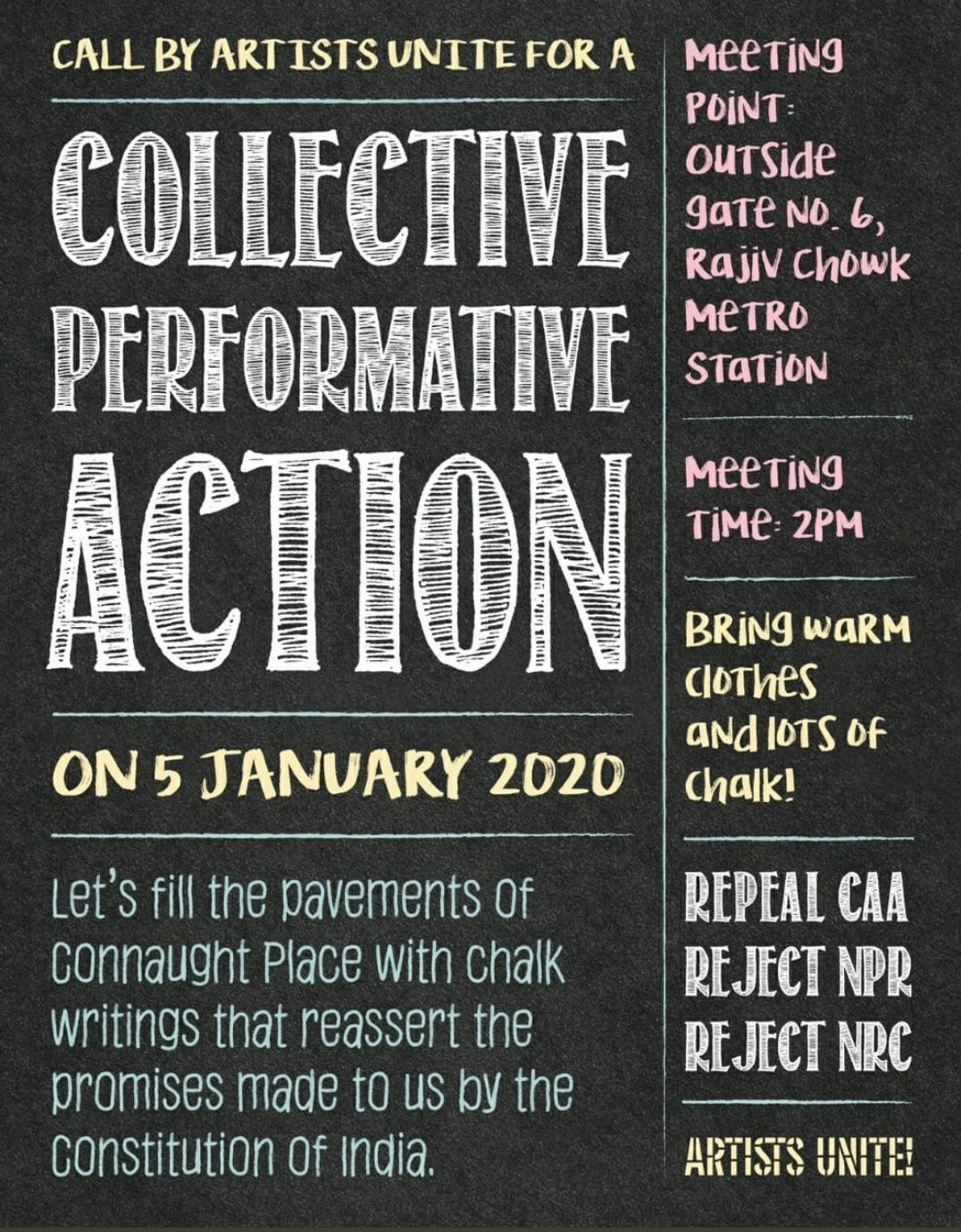 Collective Performative Action 1