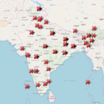 Analyzing Official EVM data – map added on demand!