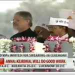 Aam Aadmi Party Swearing In at Ramlila Maidan - Some Observations
