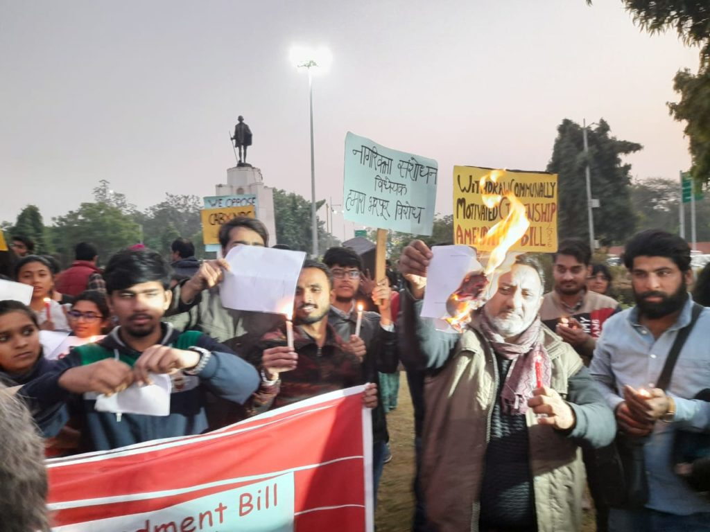 Human Rights Day observed on the streets of Jaipur protesting CAB and NRC 15