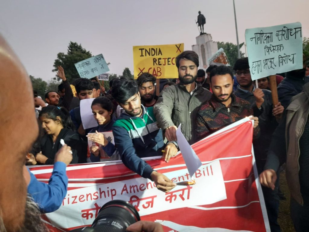 Human Rights Day observed on the streets of Jaipur protesting CAB and NRC 13