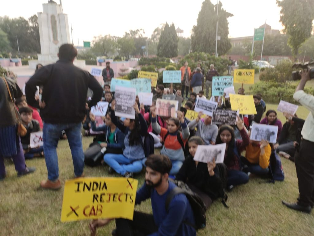 Human Rights Day observed on the streets of Jaipur protesting CAB and NRC 7