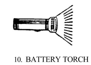 Battery Torch symbol