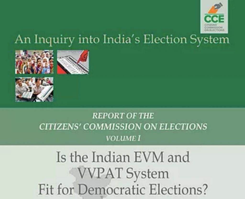 EVM voting should abide by democracy principles: Citizens' Commission on Elections 1