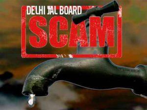 delhi jal board scam