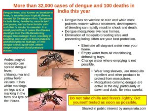 Information on dengue prevention