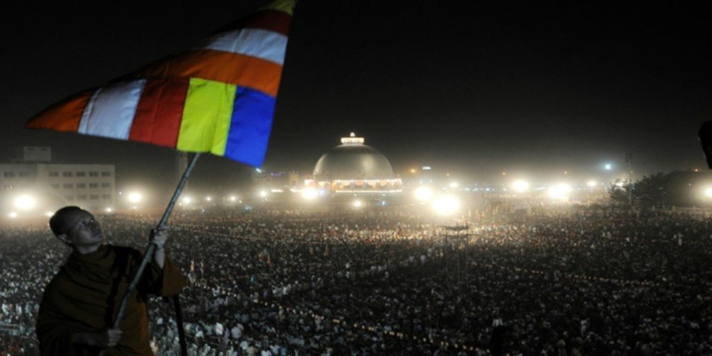 Massive crowd at Deeksha Bhoomi on Dhammachakra Pravartan Din
