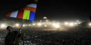 Indian media un-noticed lakhs celebrating Dhammachakra Pravartan Din