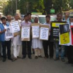 Scenes from protests nationwide against Gauri Lankesh's murder 5