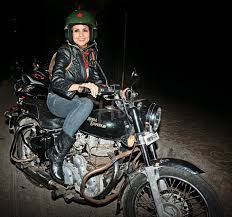 Gul Panag is an enthusiastic biker