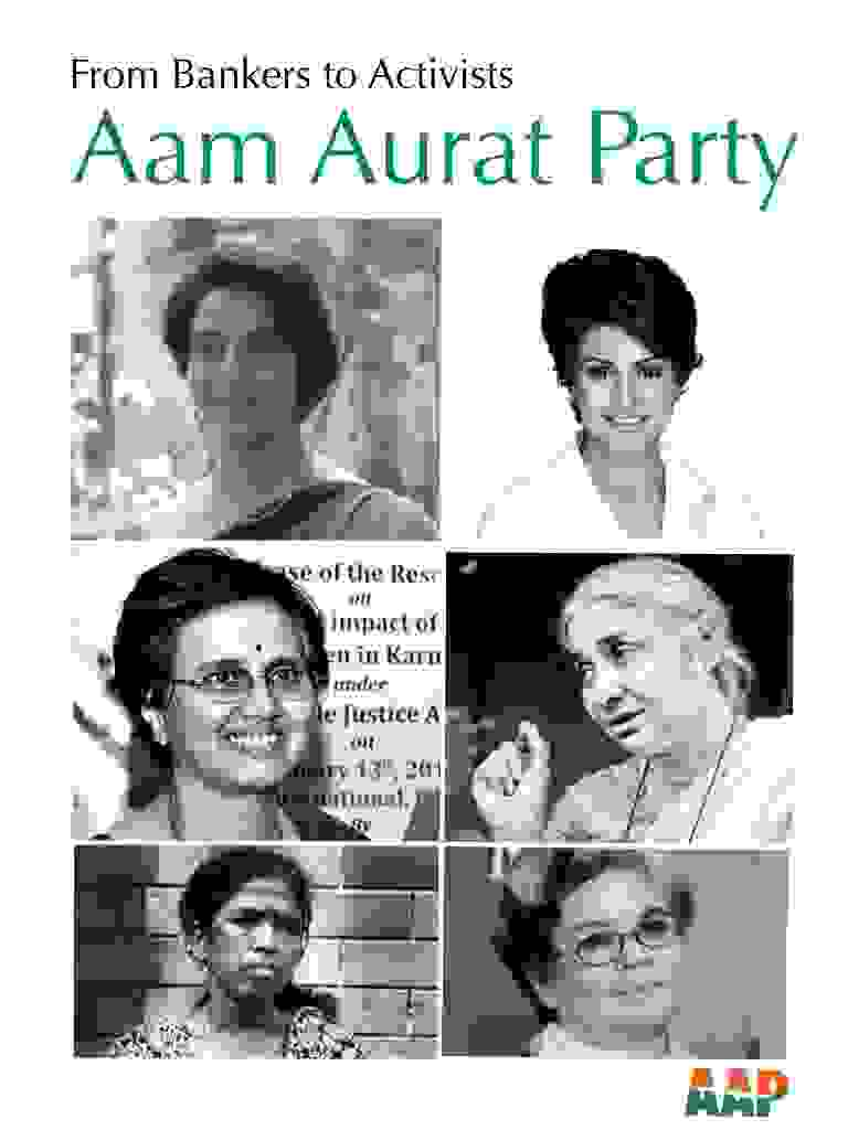 Aam Aurat Party - inspiring women joining Aam Aadmi Party