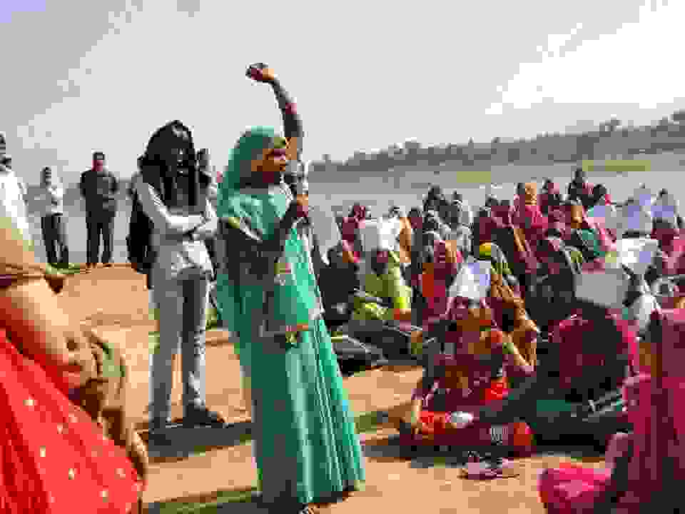 Narmada Bachao Andolan Protests