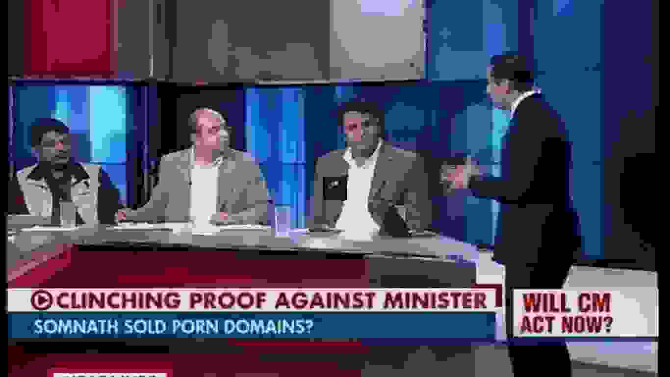Somnath Bharti sold porn domains?