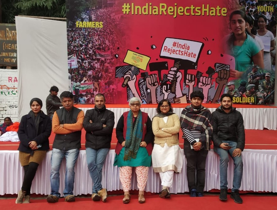 #IndiaUnites Day 5: Civil Society unites,  #IndiaRejectsHate 2