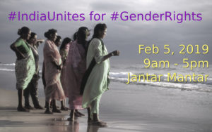 #IndiaUnites for #GenderRights