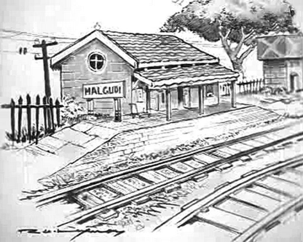 Malgudi days illustration