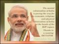 Dictator Narendra Modi