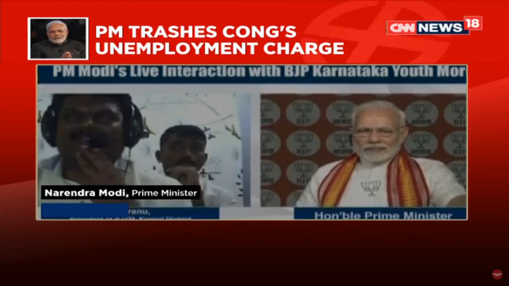 narendra modi congress unemployment