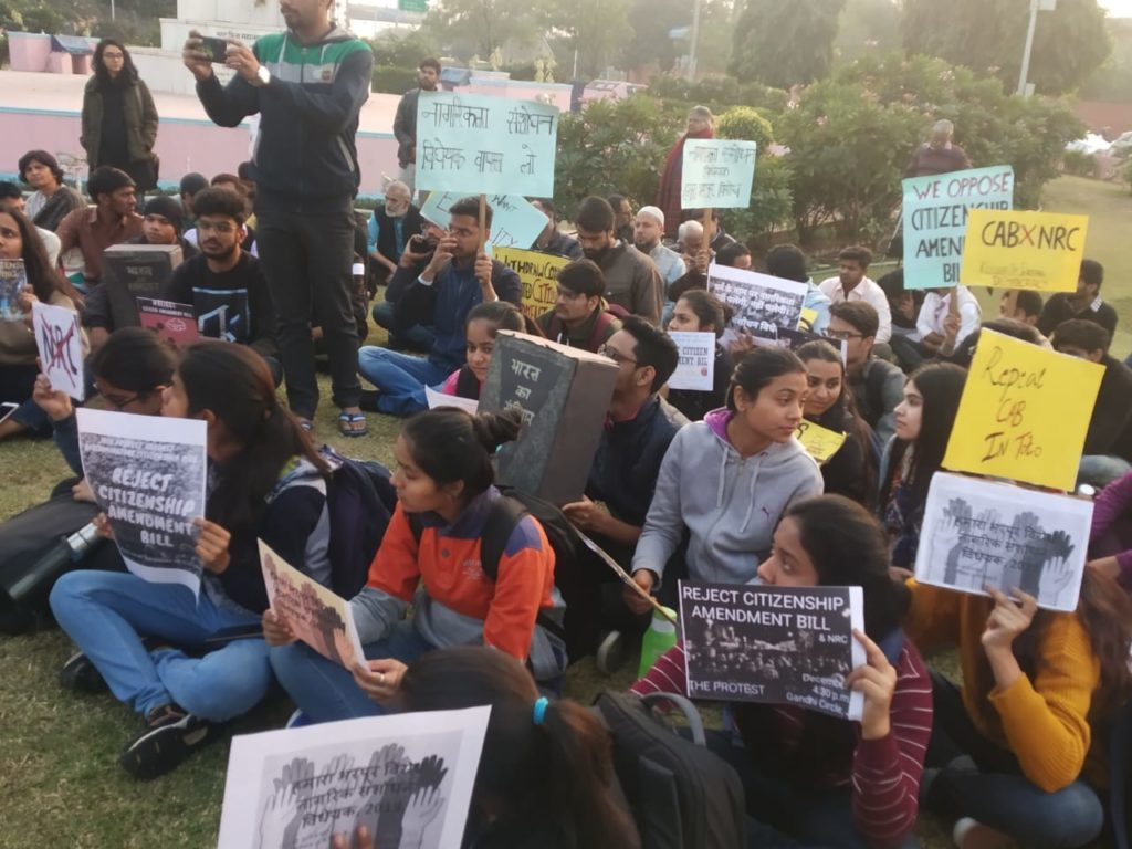 Human Rights Day observed on the streets of Jaipur protesting CAB and NRC 17