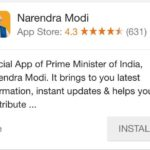 The mysterious case of the Prime Minister Modi's official app