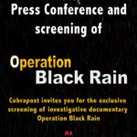 Answering some attempts to discredit Cobrapost on #opBlackRain