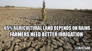 JaiKisan describes the challenges faced by Indian farmers