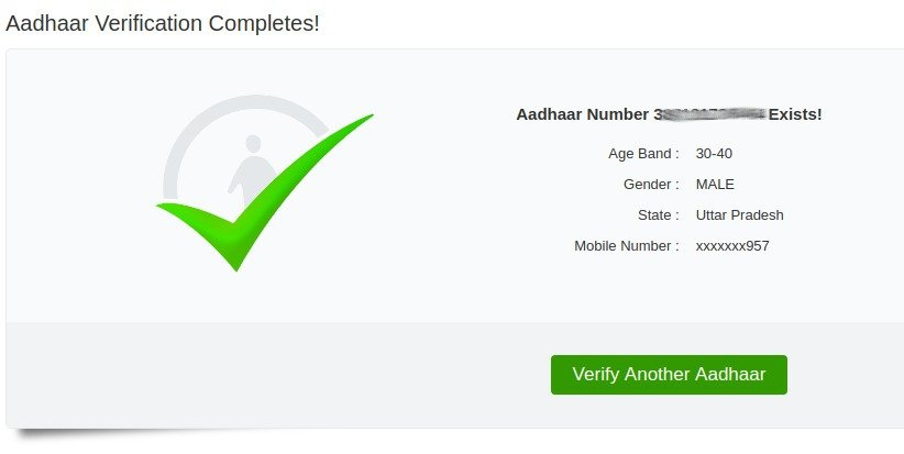 How Aadhaar UID verified the identity of an anonymous Twitter handle 6